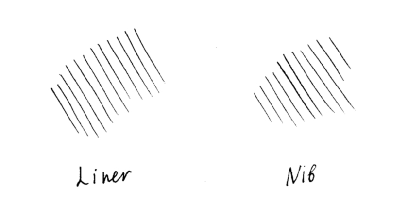 nib-and-liners-hatching